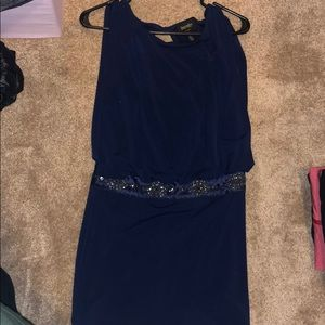 Shelli Segal Navy blue dress